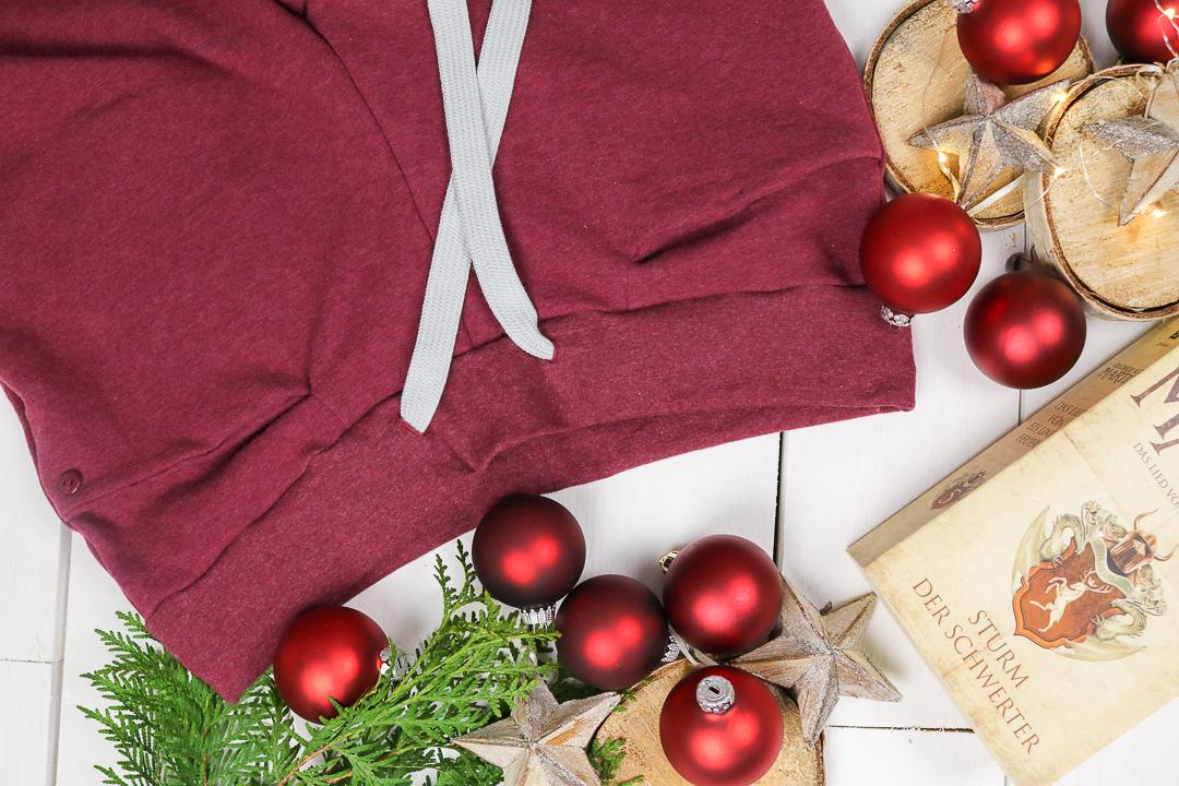 Blogbeitrag eine gemütliche Jogginghose nähen zu Weihnachten. JanaKnöpfchen - Nähen für Jungs