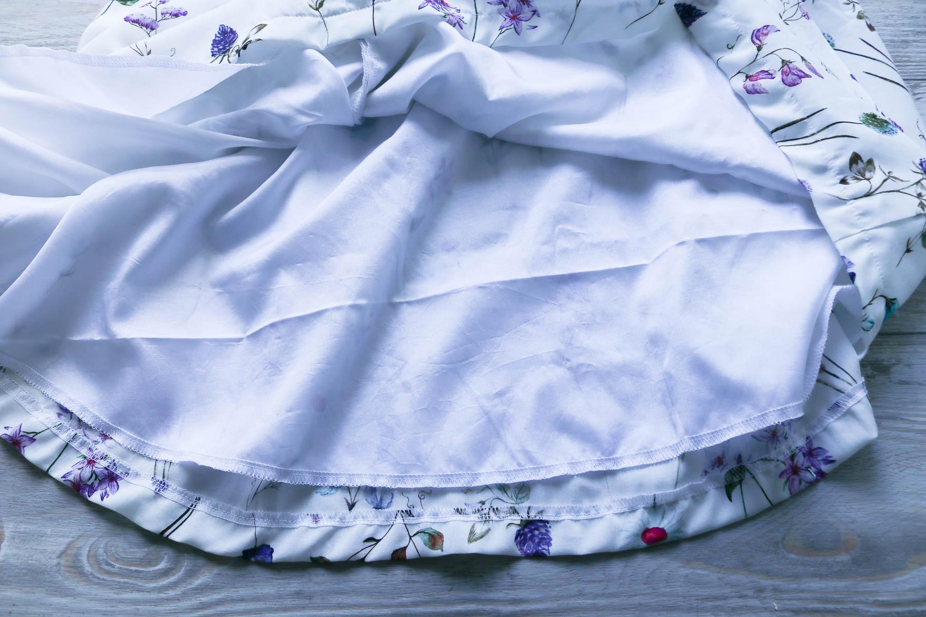 Sommerkleid mit Unterrock nähen. JanaKnöpfchen - nähen für Jungs
